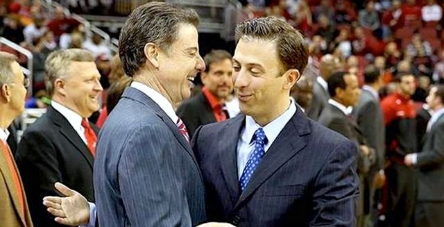 Rick Pitino says Louisville is working to finish a deal to open next season against Minnesota, coached by his son, Richard.