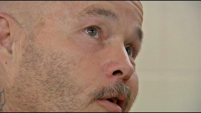 Roger Crum Jr., speaking from Clark Co. jail Wednesday.