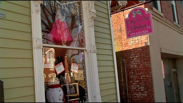 The Pretty in Pink Boutique.