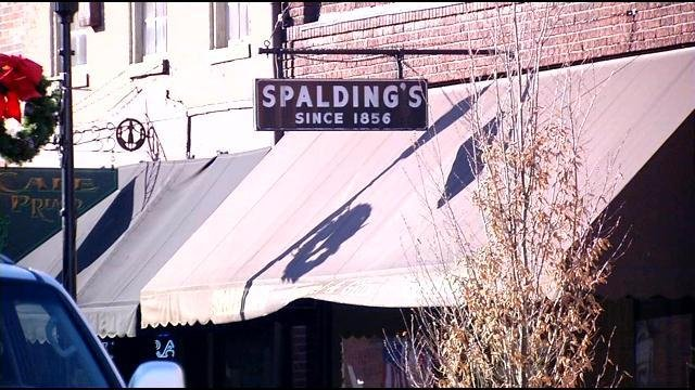 Spalding and Sons opened in 1856, 157 years ago.