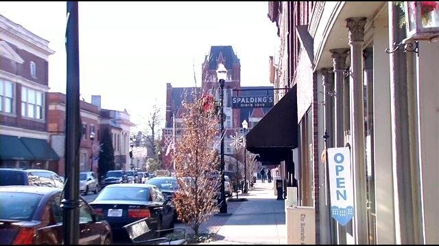 For five generations the Spalding family has owned the store just a block from Bardstown's historic town square.