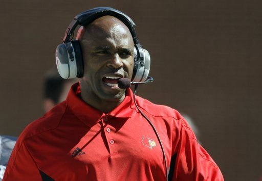 Charlie Strong told Louisville athletic director Tom Jurich that he has accepted the Texas football job.