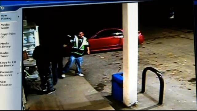 Police say the three suspects stole a car and led officers on a pursuit to Trimble County.