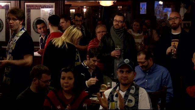 The Louisville Coopers gathered at Molly Malone's, Jan. 14, to meet with investors about the possibility of attracting a pro soccer team.