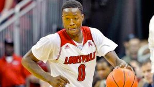 With Chris Jones injured, freshman Terry Rozier will moved into Louisville starting lineup against Houston Thursday.