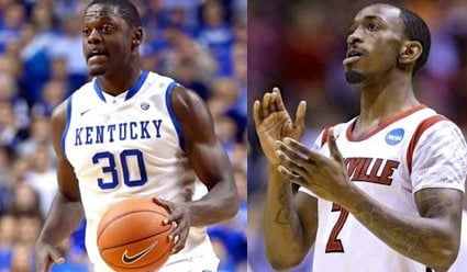 Kentucky freshman Julius Randle and Russ Smith of Louisville made the cut for the Wooden Award mid-season Top 25.
