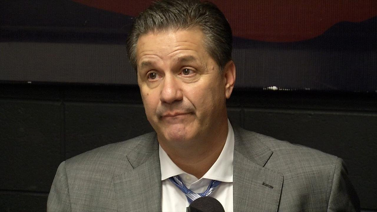 John Calipari after loss at LSU