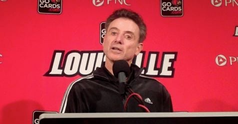 Rick Pitino's Louisville team needs to beat Cincinnati Thursday to create a first-place tie in the AAC.