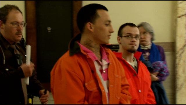Tyler Ross (far right) pleaded guilty to a DUI crash that killed 16-year-old Brooke Hawn.