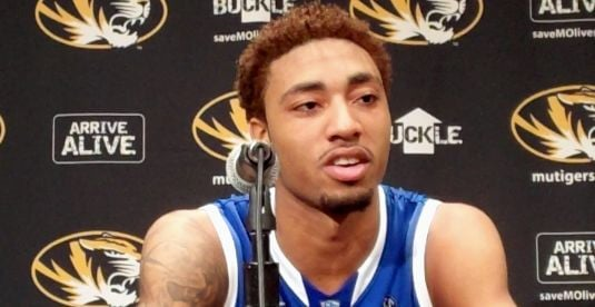 James Young had 20 points as Kentucky defeated Missouri, 84-79, Saturday in Columbia.