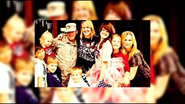 Sgt. Jason Bartlett and his family has been relocated to Germany. His twin daughters have attended four high schools in four years.