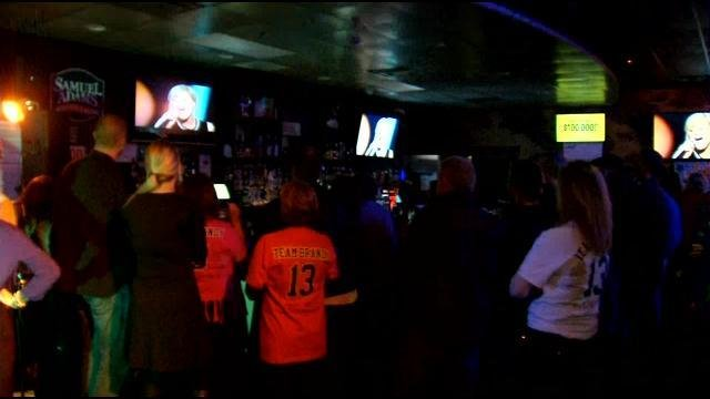 Brandy Neelly's friends and family gathered at Bistro 42 to cheer on the hometown contestant.