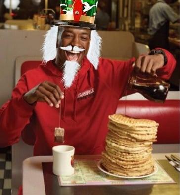 Russdiculous Waffle House beard