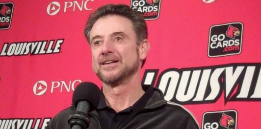 Rick Pitino's Louisville team is on pace to set a school record for fewest turnovers per game.