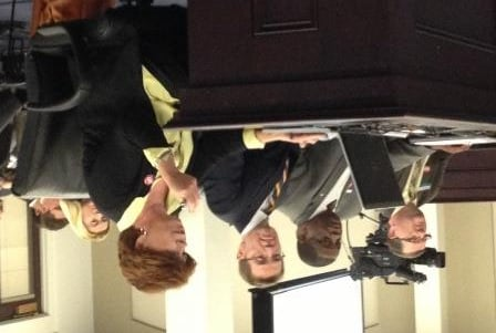 Eileen Pickett, interim CEO of Greater Louisville Inc., explained the sales tax proposal Thursday