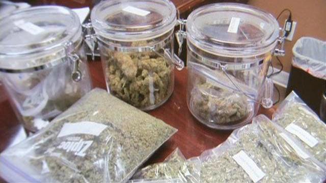 Marijuana, packaged for medical use.