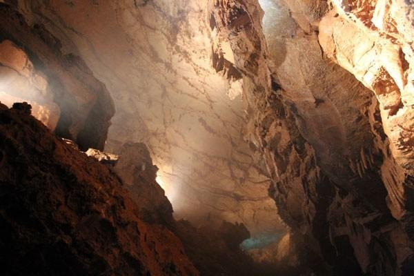 Indiana Caverns is a place of mystery and wonder that stretches over 36 miles underground.