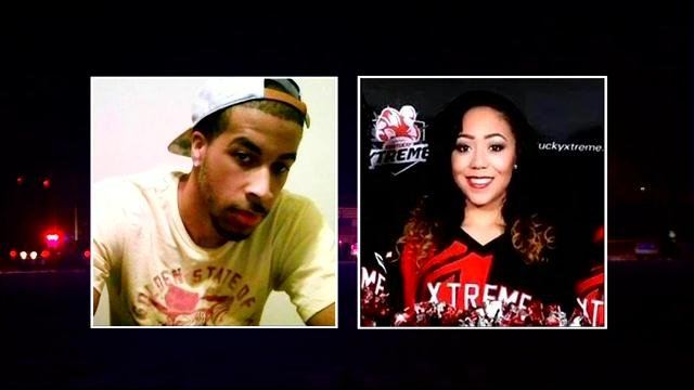 Kerry Benson and dancer Germina Cruz were killed in a single-vehicle accident Monday night.