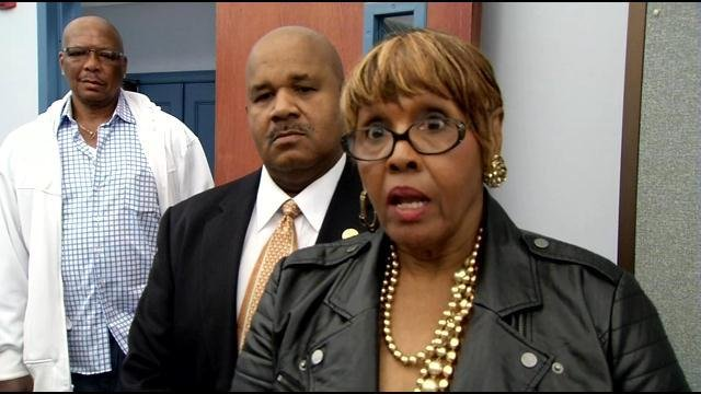 Janice Rucker filed the three ethics complaints against council president Jim King.