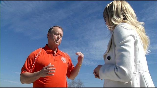 Jeffersonville Mayor Mike Moore discussed the future of the Big Four Bridge with WDRB's Lindsay Allen.
