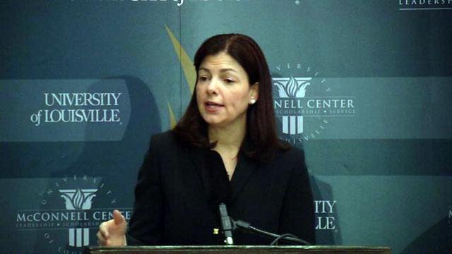 Sen. Kelley Ayotte of New Hampshire