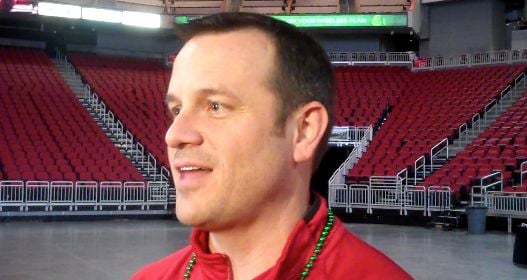 Jeff Walz and his Louisville basketball team earned a three-seed for the NCAA Tournament.