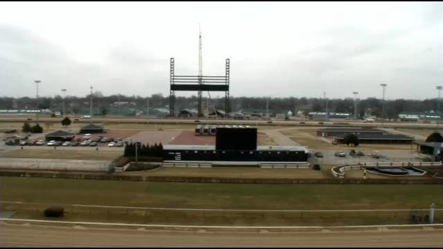 Churchill Downs officials say track renovations will be completed for Derby weekend.