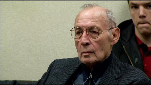 James Estes, 81, sits in a Jefferson Co. courtroom as a judge sentences him to 60 days for violating his probation.