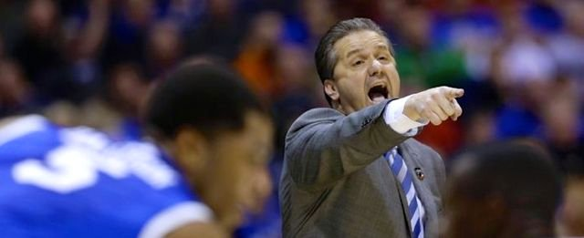 John Calipari will try to make Kentucky only the sixth eight-seed to make the NCAA Final Four on Sunday.