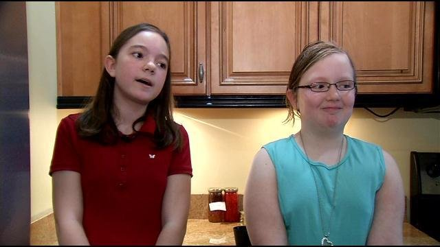 Katie Wilson, 12, and her 10-year-old sister Jackie launched JK Beads in 2012.