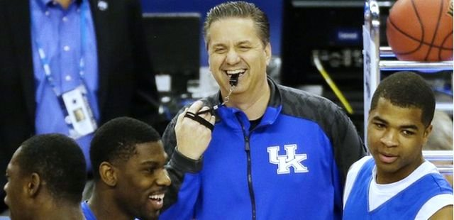 Kentucky is trying to become the second eight-seed to win the NCAA title.