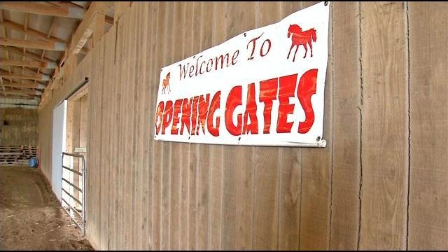 Opening Gates is a horse therapy program for children with behavioral issues.