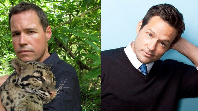 "TV host Jeff Corwin (right) will serve as the theme marshal for the Pegasus Parade, and ""Cougar Town"" star Josh Hopkins will be the Kentucky marshal."