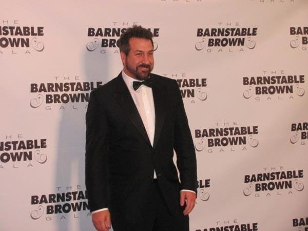 Joey Fatone is an annual guest at the Barnstable Brown Gala.
