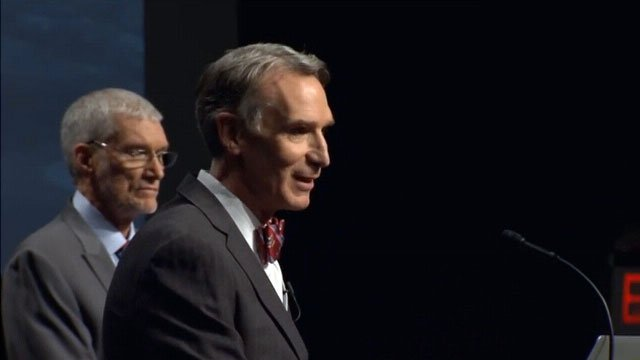 Bill Nye and Ken Ham