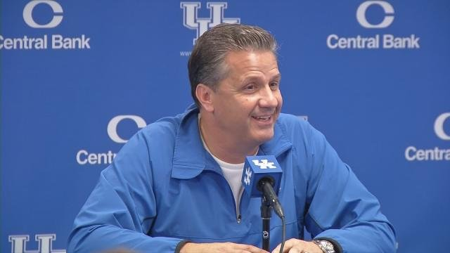 UK head coach John Calipari