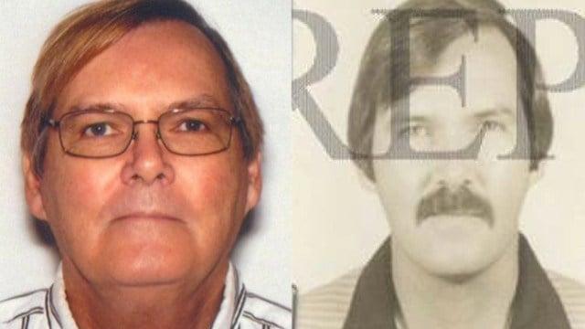 James Vahey, 2013 (left); James Vahey, 1986 (right)