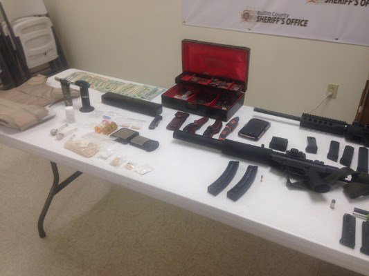 These were a few of the items seized after the Bullitt County Drug Task Force raided Paul Turner'sbusiness, Ink-A-Holix, in April of 2014.