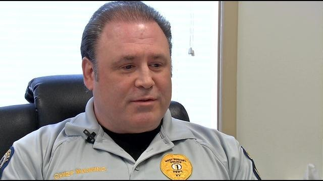 West Buechel Police Chief Jeffrey Manning is resigning.