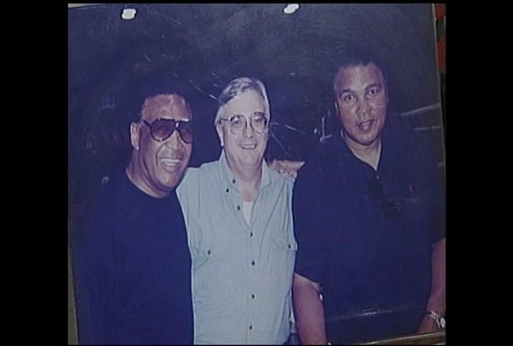 Jimmy Ellis (left) and Muhammad Ali (right)