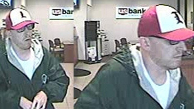 LMPD released the following surveillance photo of the man who allegedly robbed a US Bank in east Louisville on May 2, 2014.
