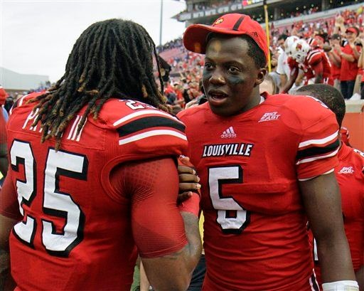 Calvin Pryor (25) was drafted ahead of Teddy Bridgewater in the first round of the NFL Draft Thursday.