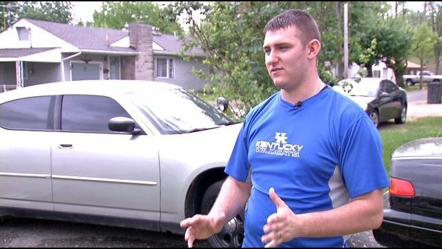 Kyle West says he will never use Craiglist again after an interested buyer tried to steal his car.