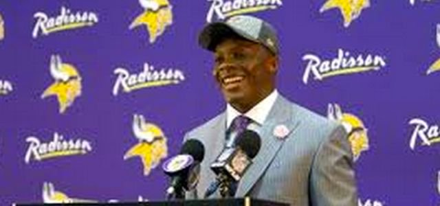 Teddy Bridgewater said he will keep Number 5 in Minnesota.