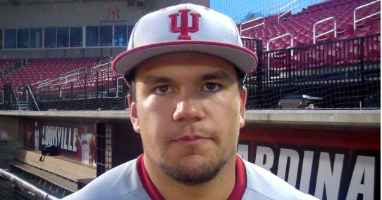 Kyle Schwarber is expected to be a first-round pick in the MLB Draft.