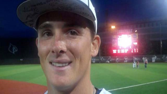 Louisville relief pitcher Nick Burdi has 54 strikeouts in 31 innings.
