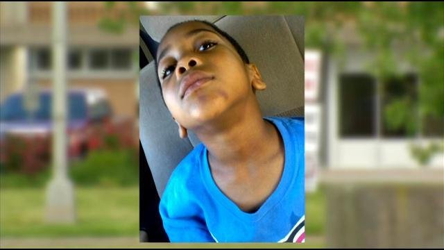 Minors Lane first-grader Kevin Mitchell says a staff member assaulted him on the school bus.
