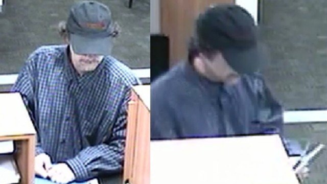 LMPD officials say this man robbed the PNC Bank on 1301 Bardstown Road.