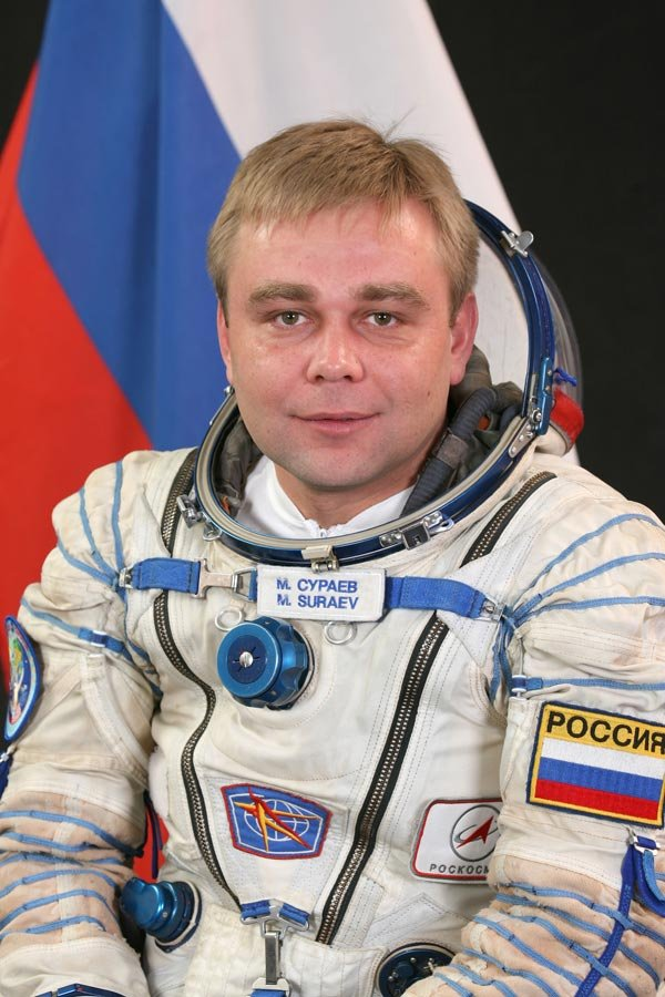 Max Suraev (Russian)  (Photo credit: NASA)