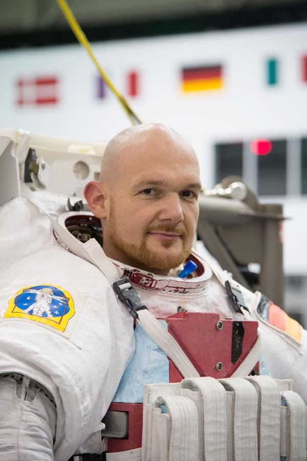 Alexander Gerst (German)  (Photo credit: NASA)